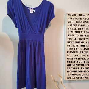 Edge clothing blue dress. Size Large GUC